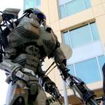 Robot de tres metros en el ComiCon 2013 de San Diego, California.